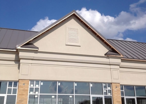 EIFS Exterior Stucco & Moulding Painting