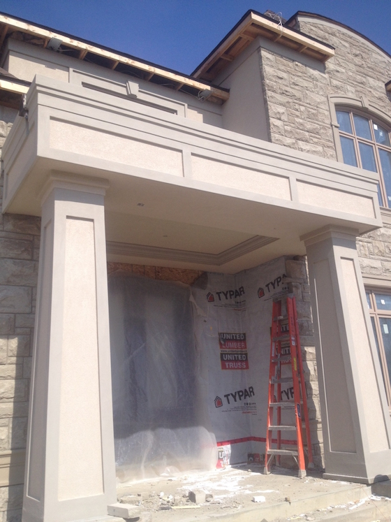 Toronto - Exterior Stucco Moulding Repair Painting Parging
