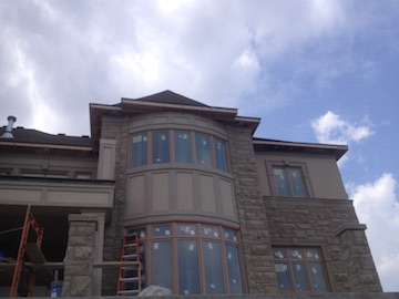 EIFS Exterior Stucco & Moulding repair
